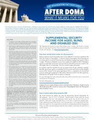 Supplemental Security Income for Aged, Blind, and Disabled (SSI)