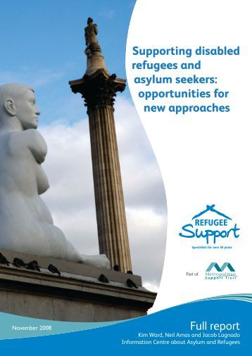 Supporting disabled refugees and asylum seekers ... - Metropolitan