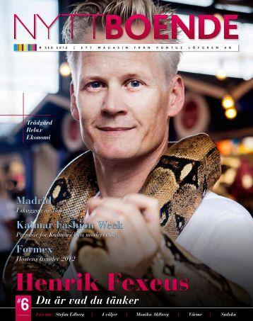 NYTT Boende Henrik Fexeus