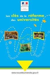 Les clés de la réforme des universités - Afm