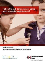 (NDS) HF Notfallpflege - Universitätsspital Basel