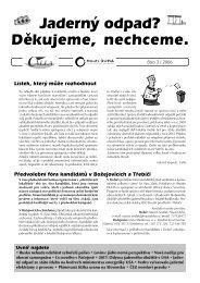 č. 3 / 2006 (pdf, 369 kB) - Calla