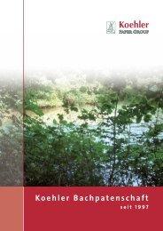 Koehler Bachpatenschaft - Koehler Paper Group