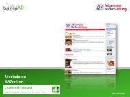 Mediadaten abzonline.de - businessAD