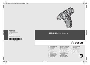 GSR 10,8-2-LI Professional