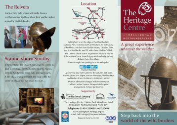 The Heritage Centre - Tourismleafletsonline.com