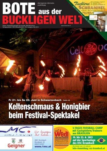 Keltenschmaus & Honigbier beim festival-spektakel - Bote aus der ...