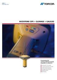RICEVITORE GPS + GLONASS + GALILEO - Topcon Positioning