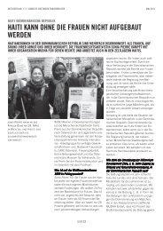 Aktivistin Mai 2011 - Arbeitsgruppe für verfolgte GewerkschafterInnen
