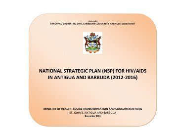 (nsp) for hiv/aids in antigua and barbuda - PANCAP- Pan Caribbean ...