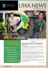Issue 19. 1 December 2008 - UWA Staff - The University of Western ...