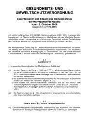 Gesundheits- und Umweltschutz-Verordnung (495 KB) - .PDF - Gablitz