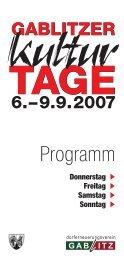Amtsblatt 6/07 - Teil 2 (0 bytes) - Gablitz