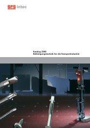 Katalog 2008 Befestigungstechnik für die Transportindustrie