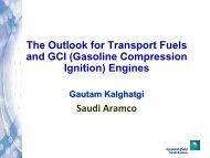 Gasoline Compression Ignition (GCI) - Engine Research Center