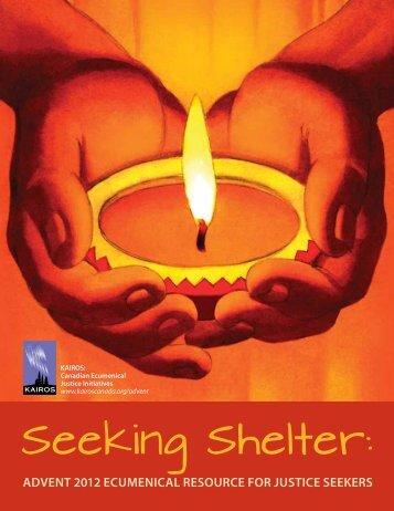 Seeking Shelter: - KAIROS Canada