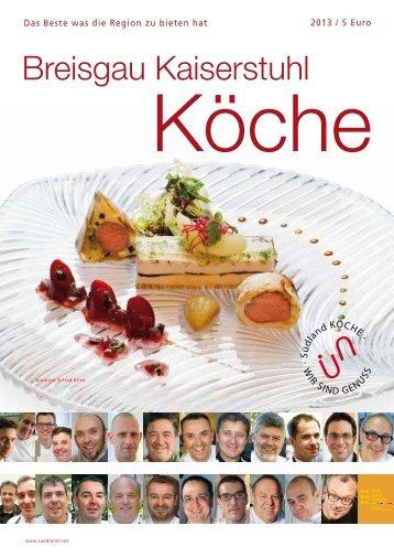 Breisgau Kaiserstuhl - Die Köche