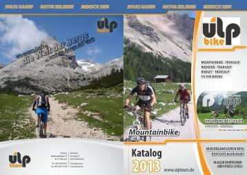 Download PDF Katalog 2013 (24,5MB) - ULPtours