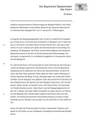 Der Bayerische Staatsminister des Innern - Fichtelgebirge Erlebnis ...