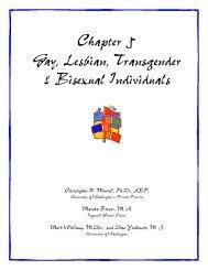 Chapter 5 Gay, Lesbian, Transgender & Bisexual Individuals