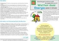 Wetten dass Energie - Bezirksgemeinschaft Burggrafenamt