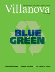 Commencement 2009 - Villanova University