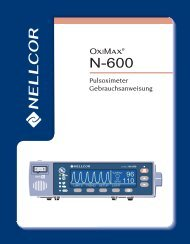 Nellcor N-600-Manual - INSPIRATION Medical