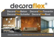 DecoraFlexBeton DecoraFlexTravertin DecoraFlexSchiefer ...