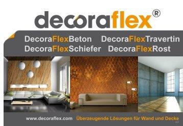 DecoraFlexBeton DecoraFlexTravertin DecoraFlexSchiefer ...