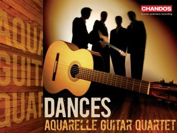 aquarelle Guitar Quartet - Chandos