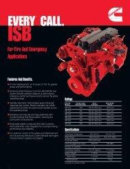 EVERY™ CALL. - Cummins Engines