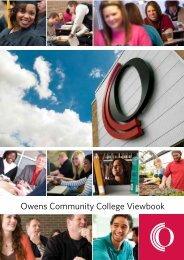 Owens Community College Viewbook