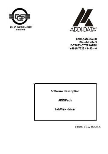 ADDIPack_LabView_Dri.. - Egmont Instruments
