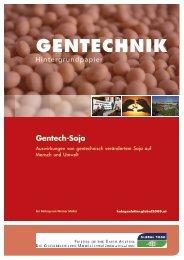 Hintergrundpapier Gentech-Soja - Global 2000