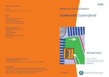 Conferentie - Week van de Psychiatrie