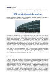 Stratégie 29 - CARA IBM