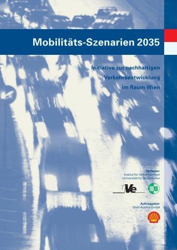 Mobilitäts-Szenarien 2035