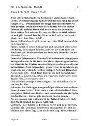 Sonntag, 15. Januar 2012 - St. Michael Weingarten