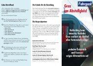 Protest-Folder - FAHRGAST Steiermark