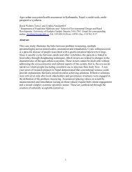 1 Agro-urban ecosystem health assessment in Kathmandu, Nepal: a ...