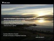 symposium 2 - Camilla Wikström-Grotell - Congress2012