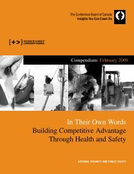 In Their Own Words - Business Leaders' Health & Safety Forum