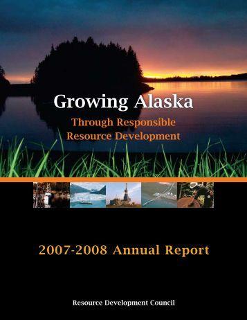 2007-2008 Annual Report - Resource Development Council