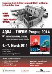 aQUa – tHerM Prague 2014 - rehva