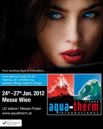 24th- 27th Jan. 2012 Messe Wien - Aquatherm Vienna 2014