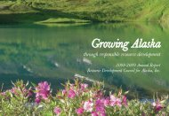 2008-2009 Annual Report - Resource Development Council