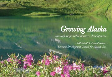 2008-2009 Annual Report - Resource Development Council