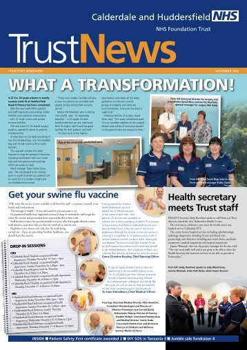 WHAT A TRANSFORMATION! - Calderdale and Huddersfield NHS ...