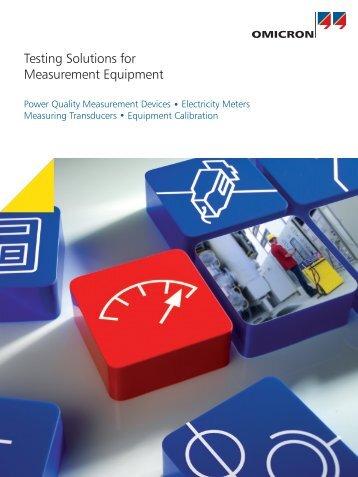 Measurement Brochure - English - firsttech.ro