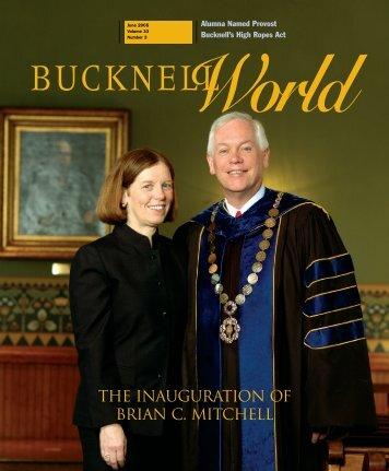 THE Inauguration of Brian C. Mitchell - Bucknell University